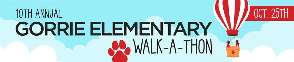 10th Annual Gorrie Elementary Walk-a-thon